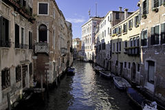 Canal in Venice,Italy Stock Photos