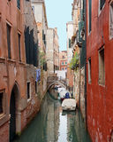 Canal in Venice Italy Stock Image