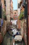 Canal in Venice Italy Royalty Free Stock Photo