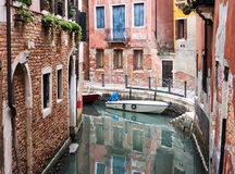 Canal in Venice, Italy Stock Images