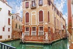 Canal in Venice, Italy Stock Photos