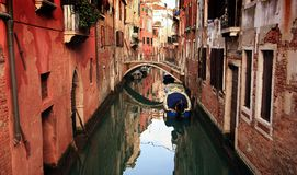 Canal of Venice Stock Photos