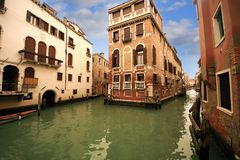 Canal of Venice Royalty Free Stock Image