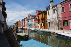 Canal in Venice Stock Image
