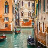Canal in Venice Royalty Free Stock Photo