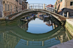 Canal of venice Royalty Free Stock Photography