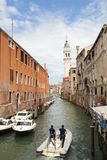 Canal in Venice. Royalty Free Stock Images