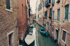 Canal in Venice (Venezia) Stock Photo