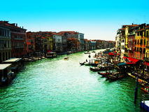 A canal in Venice Stock Photos