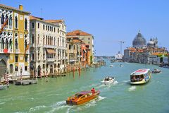 canal Venise grande Image stock