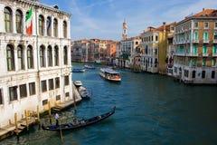 canal Venise grande Photos stock