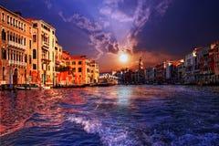 canal Venise grande Photographie stock libre de droits