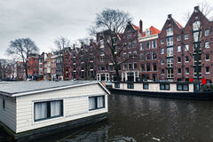 Canal view, Amsterdam, Netherlands royalty free stock images