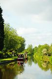 Canal view, Barton-under-Needwood. Stock Photography