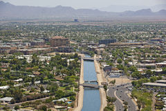 Canal view of Scottsdale Stock Photography