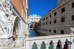 Canal view in Venice Royalty Free Stock Photos