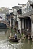 Canal of Wuzhen Stock Photo