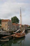 Canal in Zierikzee Stock Photo