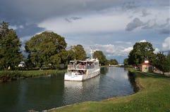 Canalboat Fotografia Stock
