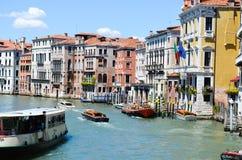 Canale большой, Венеция Италия стоковые фотографии rf