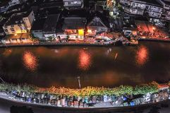Canale a Bangkok Fotografie Stock Libere da Diritti