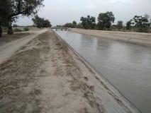 Canale Bhakkar di Thal fotografia stock libera da diritti
