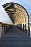 Canale calmo di Pra, Genova fotografia stock