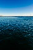 Canale Chacao, Chiloé dell'incrocio. Fotografia Stock Libera da Diritti