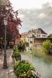 Canale a Colmar Fotografie Stock