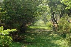 Canale del fiume in Alleppey, Kerala Immagini Stock Libere da Diritti
