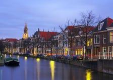 Canale a Delft Immagine Stock Libera da Diritti