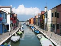Canale dell'Italia Fotografia Stock