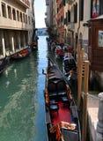 Canale di acqua di Rio Venezia Fotografia Stock