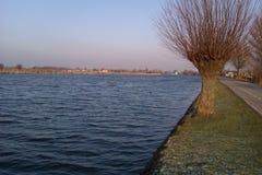 Canale di Amstel fotografia stock libera da diritti
