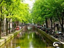 Canale di Amsterdam Fotografie Stock