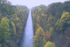 Canale di autunno Immagine Stock Libera da Diritti
