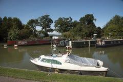 Canale di Avon e di Kennet a Devizes Regno Unito Fotografie Stock