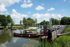 Canale di Bata, repubblica Ceca, Immagine Stock Libera da Diritti