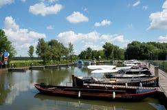 Canale di Bata, repubblica Ceca, Fotografia Stock