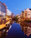 Canale di Birmingham fotografia stock libera da diritti