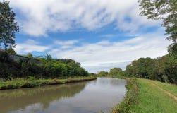 Canale di Briare Fotografie Stock