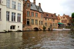Canale di Bruges Fotografie Stock