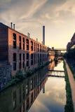 Canale di C&O, Georgetown, Washington DC Fotografia Stock