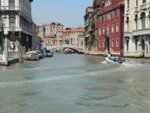 Canale di Cannaregio, Venezia (Italië) Stock Foto's