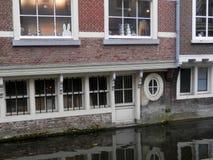 Canale di Delft Fotografia Stock
