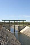Canale di diversione dell'acqua Immagine Stock