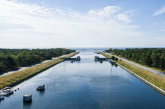 Canale di Falsterbo, Svezia fotografia stock
