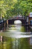 Canale di fiume di foto dell'Olanda Fotografie Stock Libere da Diritti