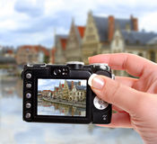 Canale di Gand Fotografie Stock