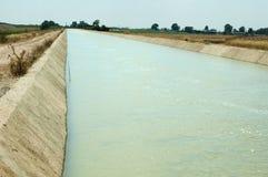 Canale di irrigazione fotografie stock libere da diritti